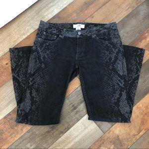 Fun Armani Exchange Black Jeans Size 8